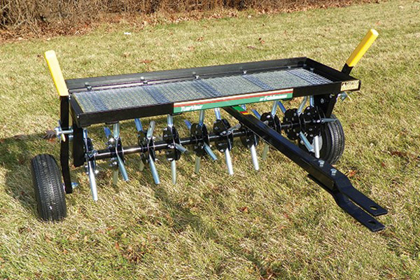 Pull-Behind Lawn Aerator